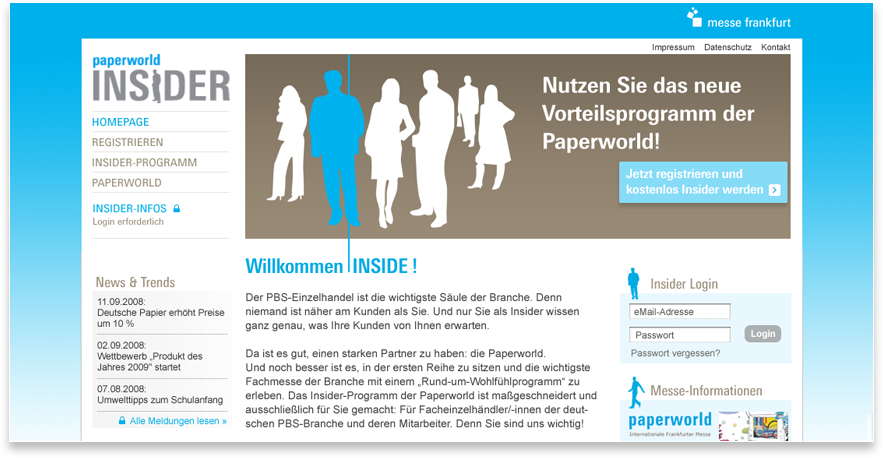 Paperworld Website
