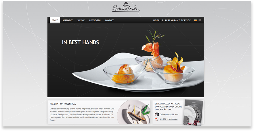 Rosenthal Hotel Website In Best Hands