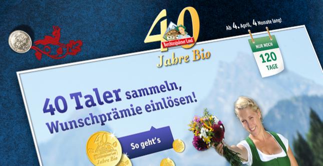 Bergbauernmilch 40 Jahre Bio Sammelaktion 2013