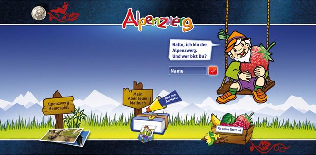 Alpenzwerg im Jahr der Werbung ausgezeichnet